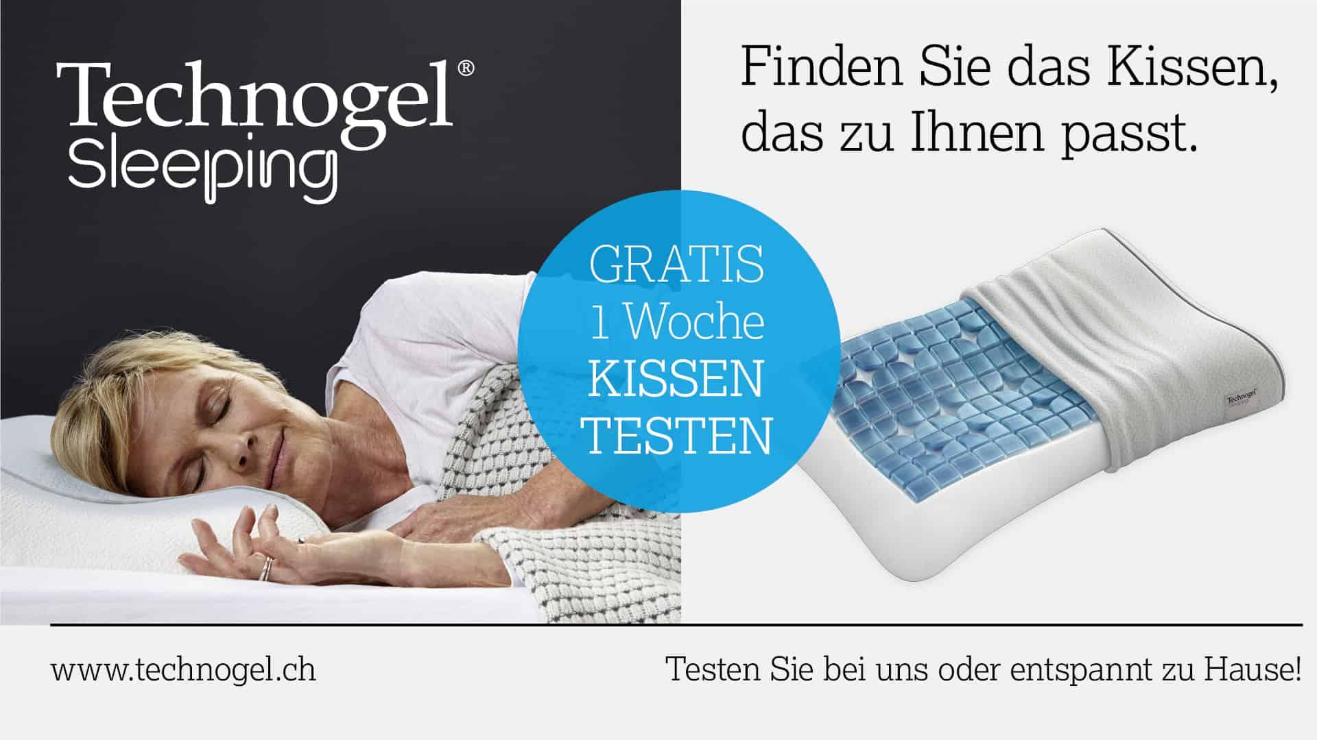 Technogel Kissen testen