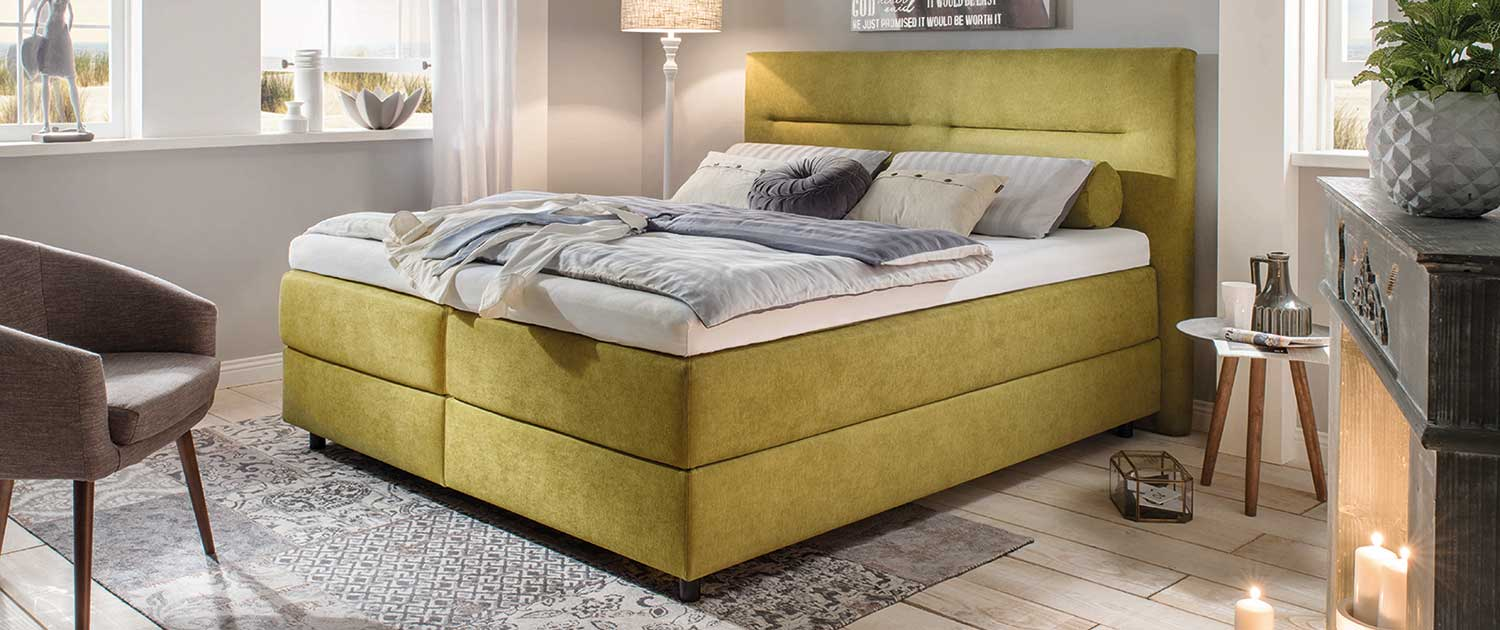 Harson Boxspring Feel The Difference Bawitex Schlafcenter