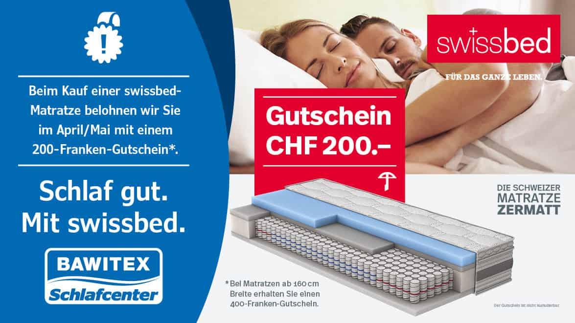 Swissbed Aktion
