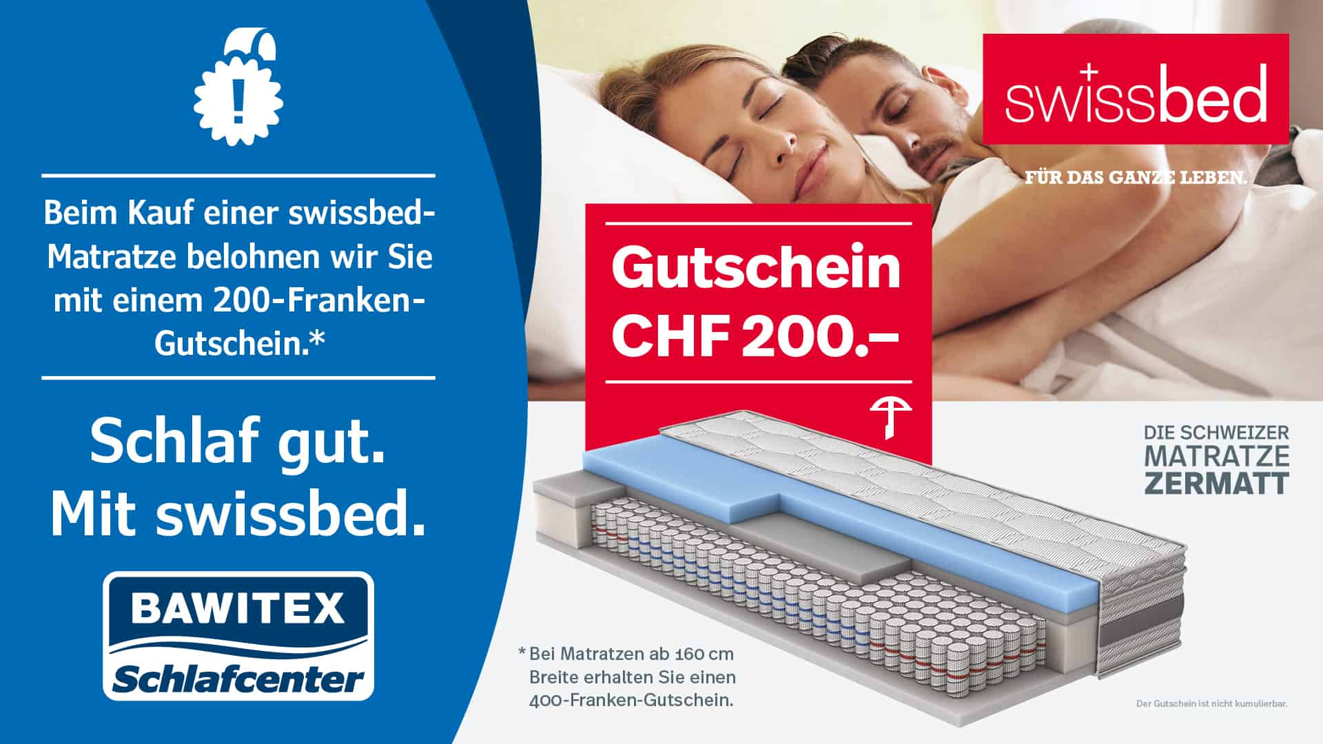 Swissbed Aktion